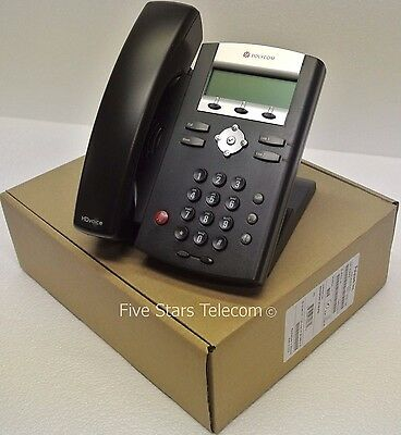 Polycom IP 335 VoIP SIP Phone Telephone PoE (2200-12375-025) - NEW