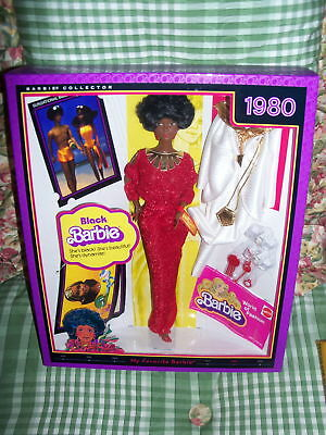 My Favorite Barbie 1980 Black Barbie Vintage NRFB