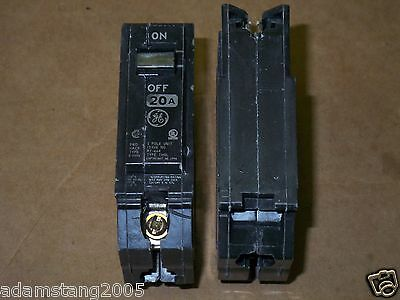 new GE THQL THQL1120  1 pole 20 amp Circuit Breaker