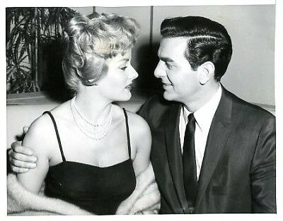 Mike Connors Ann Mccrea Busty Tightrope 59 Abc Tv Photo