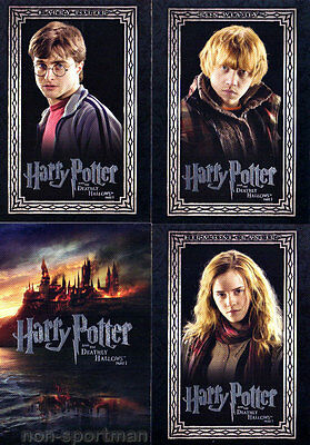 Harry Potter And The Deathly Hallows Set Of 90 Cards