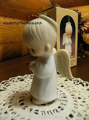 Precious Moments~ORNAMENT~DATED 1981~E5629~Angel w Patch~Let The Heavens REJOICE