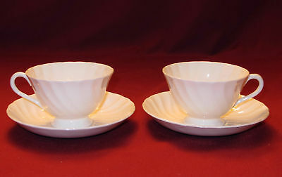 Royal Tuscan Whitecliffe Cups & Saucers 2