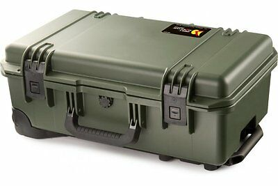 Peli Storm iM2500 Airline Carry On  With Dividers OLIVE