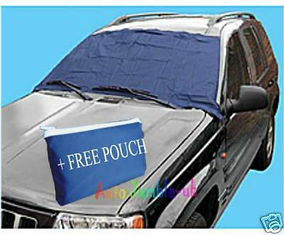 Wind screen frost ice protector cover car windscreen winter small van snow dust