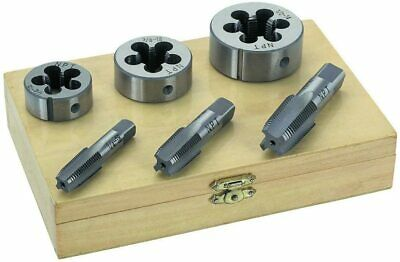 6 pc Pipe Tap and Die set Pipes and Engine repair Tools