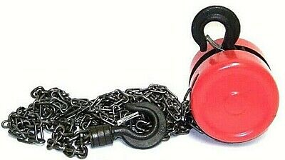 2 Ton Chain Puller Block Fall Chain Hoist Hand Tools 0T