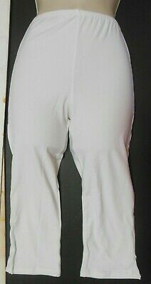 NEW Black CAPRI DANCE PANTS child//adult for costuming theatrical polyester knit