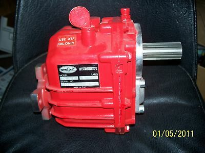 TECHNODRIVE Twin Disc TMC 40 P transmission , NEW