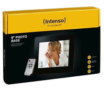 Intenso digitaler Bilderrahmen Photo Frame Photo Base 8 Zoll