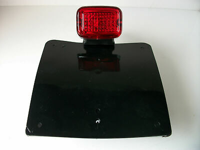New Universal Motorcycle Tail Stop Light Number Plate Streetfighter Green Laning