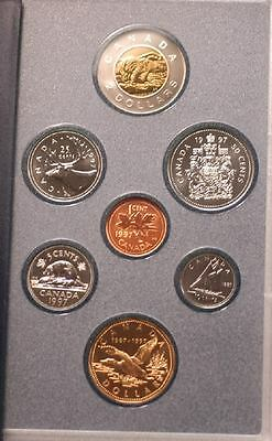 1997 Canadian Specimen Set - Special 'Flying loon'