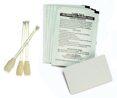 Printer Cleaning Kit for Zebra Card Printers