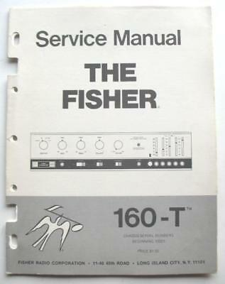 Fisher Model 160-T Fm Stereo Receiver Service Manual