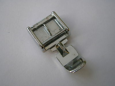 Sewing Machine Clip On Zipper Foot Fits Brother Toyota Janome Singers Silver +++