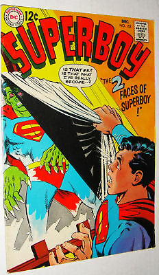 Superboy #152 Adams Cover Glossy Vf/vf-