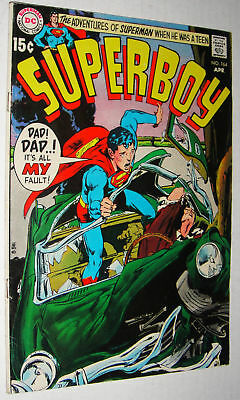 Superboy #164 Adams Cover Glossy Fine-