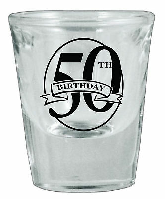 48 Personalized Glass Birthday Favor Shot Glasses NEW