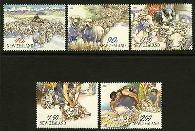 New Zealand 1850-4 MNH Year of the Ram, Sheep, Horse