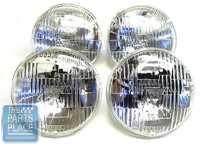 1968-71 GM Cars T-3 / T3 Headlamps / Headlights - Set of 4