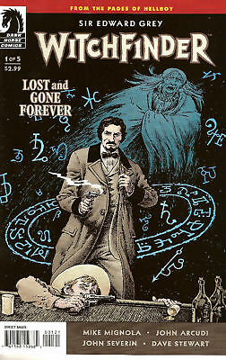 Witchfinder Lost and Gone Forever #1 Variant by Severn