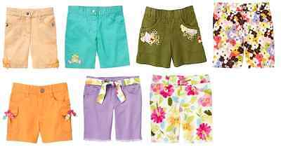 Vintage Gymboree bermuda shorts spring summer beach tropical bloom surf daisy 4