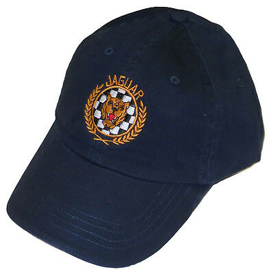 Jaguar growler XKE E-Type style embroidered hat