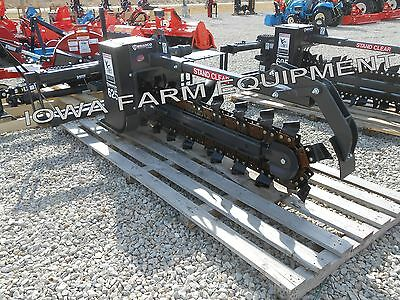 """Bradco 625 Skidsteer Trencher,48""""x6""""TESChain: Select State Free Shp'g-See Det's!"""