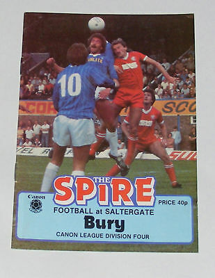 Chesterfield -v- Bury 1983-1984