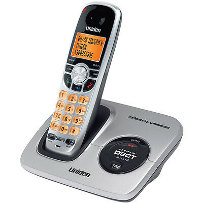 UNIDEN 2015 DECT 6.0 DIGITAL CORDLESS PHONE WiFi LCD