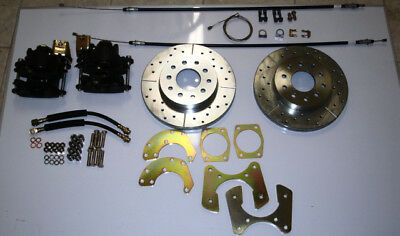 "ford 8"" or 9"" small bearing rear disc brake conversion"