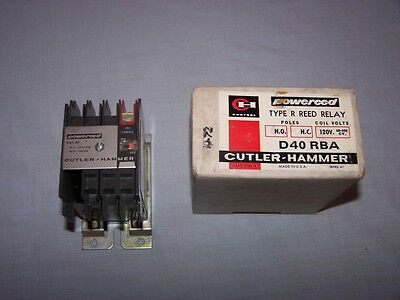 Cutler Hammer D40Rba Type R Reed Relay New In Box