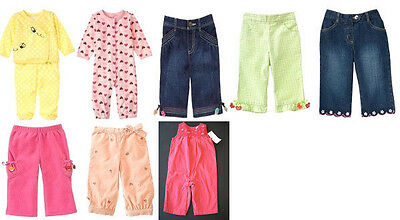 NWT gymboree girl romper pants pajama outfit 3 6 12 9 m
