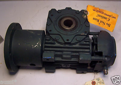 Refurbished Flender 5.1:1 Ratio Hollow Bore Gear Speed Reducer 2 Hp