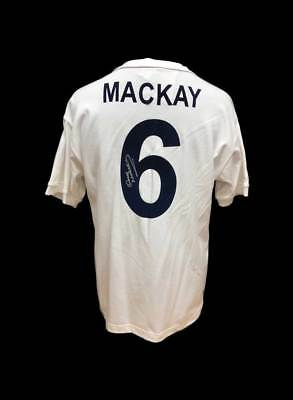 Dave Mackay Signed Tottenham Hotspur 1961 Football Shirt Coa Proof Spurs