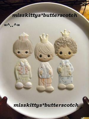 Precious Moments~PLATE~Wee Three Kings~E0538~LE~2559 #
