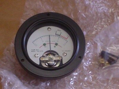 "2.5"" A&M Test Set Equipment Panel Meter Volts-MA dba"