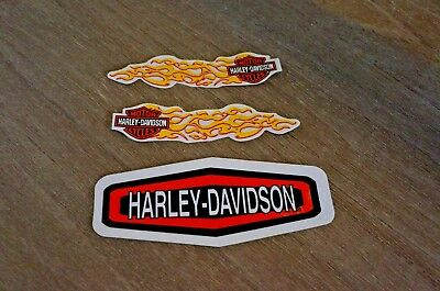 New Harley Davidson Bold Logo Window Decal Sticker