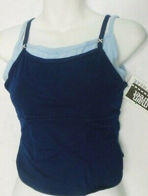 NWT Double Camisole top 2 Color child Ladies Dance
