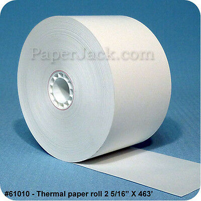 "Thermal Paper Rolls 2 5/16"" x 463' - Stk #61010 - Case of 27 rolls"