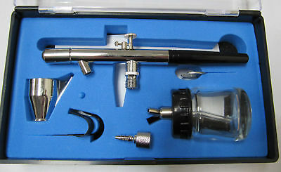 Airbrush Double Action Gravity Feed Uk Stocked Bd-128P Art Cake Craft Spray Gun