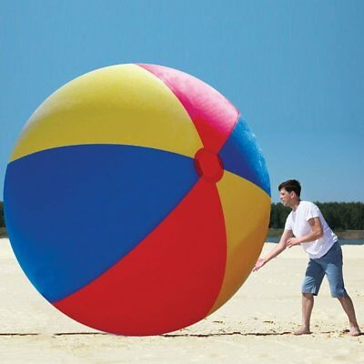 10 FOOT TALL - Inflatable Giant Beach Ball - MEGA MASSIVE TOY ~ Big Mouth Toys