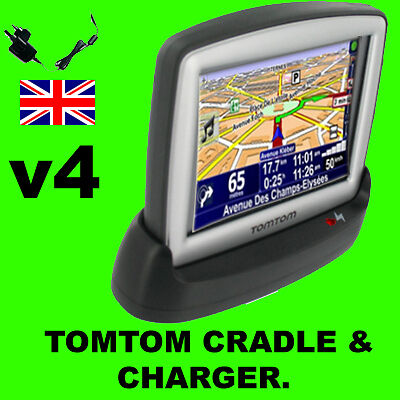 Tomtom One V4 V5 IQ CLASSIC USB PC Dock Mains Charger