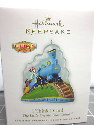 HALLMARK THE LITTLE ENGINE THAT COULD ORNAMENT $12.50 E