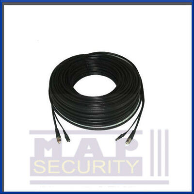 1X 2-Core 20M Rg59 Video / Power Cctv Cable With Attached Fittings