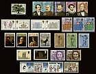 1973 Commemorative Stamps Year Set. Unmounted mint.