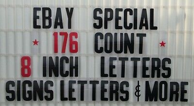 """8"""" Changeable Letters 4 Outdoor Marquee Portable Signs"""