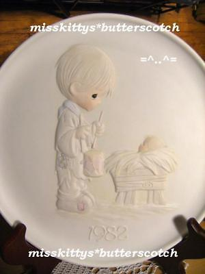 Precious Moments~PLATE~DATED 1982~Drummer Boy~E-2357