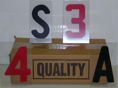 """4 Inch on 5"""" Changeable Outdoor Sidewalk Sign Letters"""
