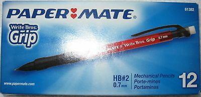 Papermate Grip 0.7Mm Mechanical Pencils 12 Pack